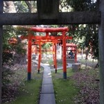 Red archways in Japan